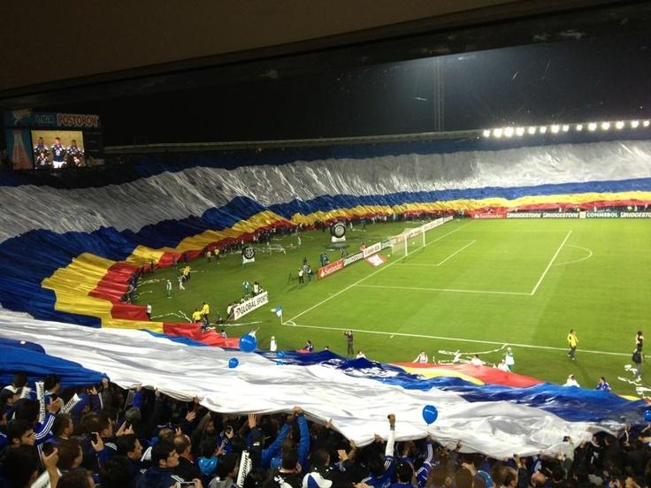 """Estadio Nemesio Camacho """"El Campin"""" Casa de Millonarios FC. Bogotá, Colombia."""
