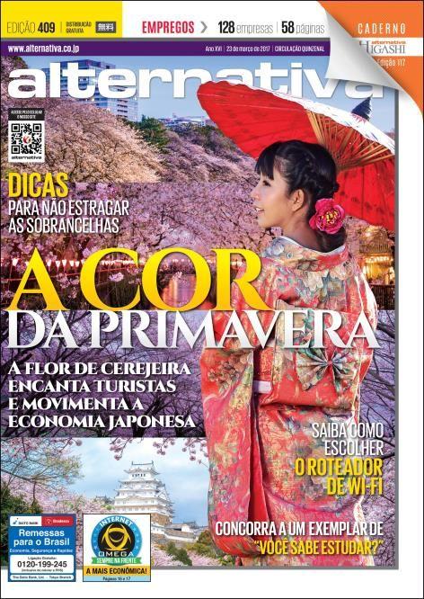Revista Alternativa - Edição 409 A Cor da Primavera