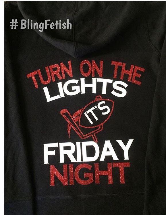 Friday Night Lights, football shirt #blingfetish