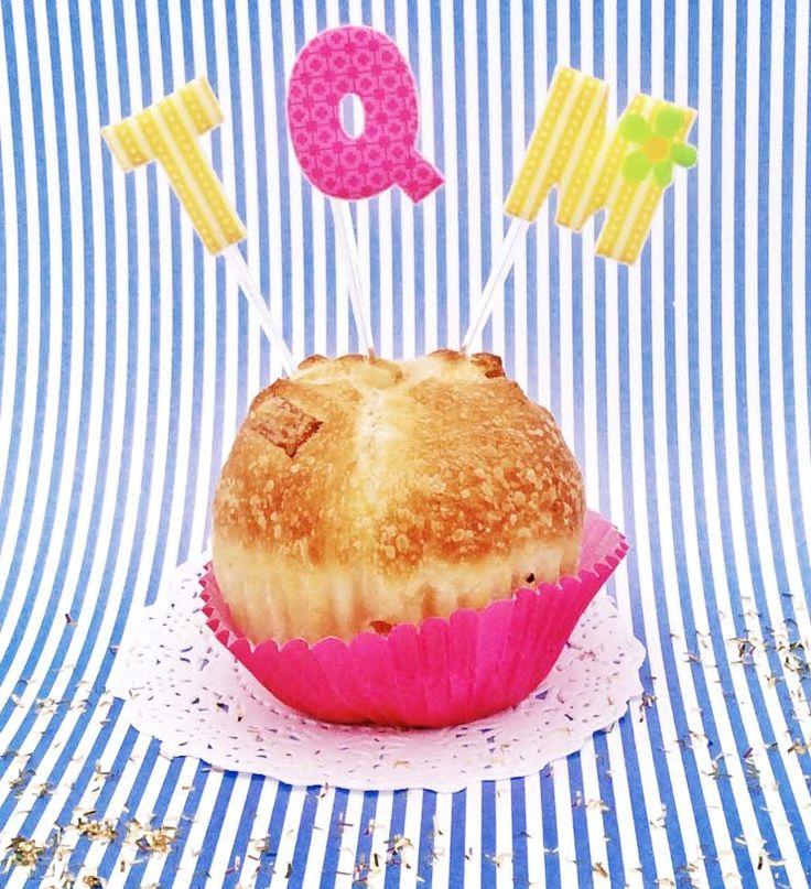Toppers abc de Lovely Party para decorar cupcakes, pasteles o bocadillos