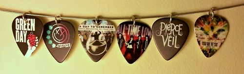 Not a fan of Green Day or Blink, but  the other 4 I love.