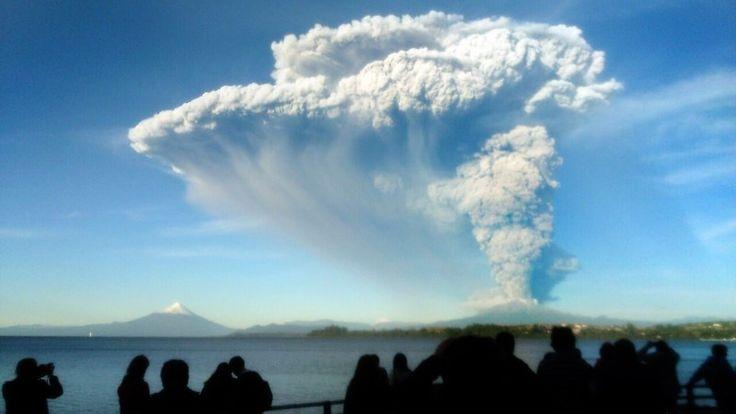 Evacuaties na vulkaanuitbarsting Chili | NOS