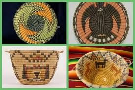 cestas de los indios navajos - Buscar con Google                                                                                                                                                                                 Más