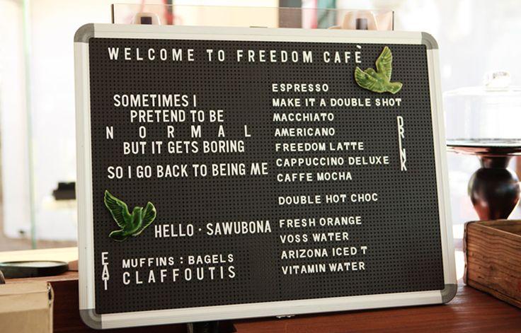 The Freedom Cafe - Durban