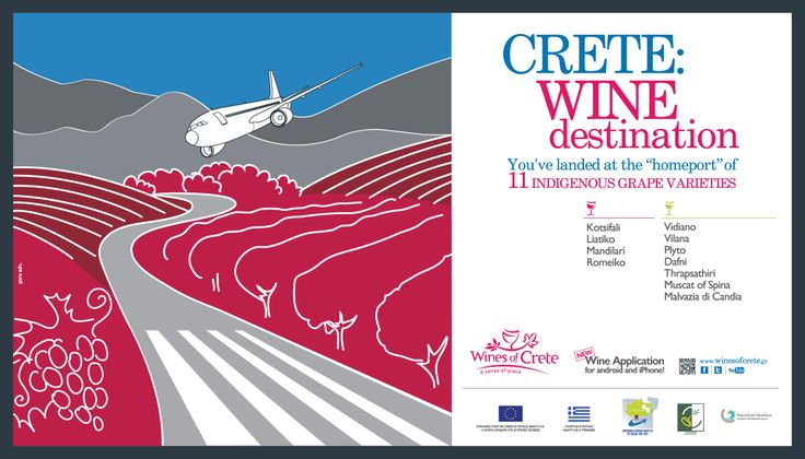 #Wines of #Crete, #wine destination