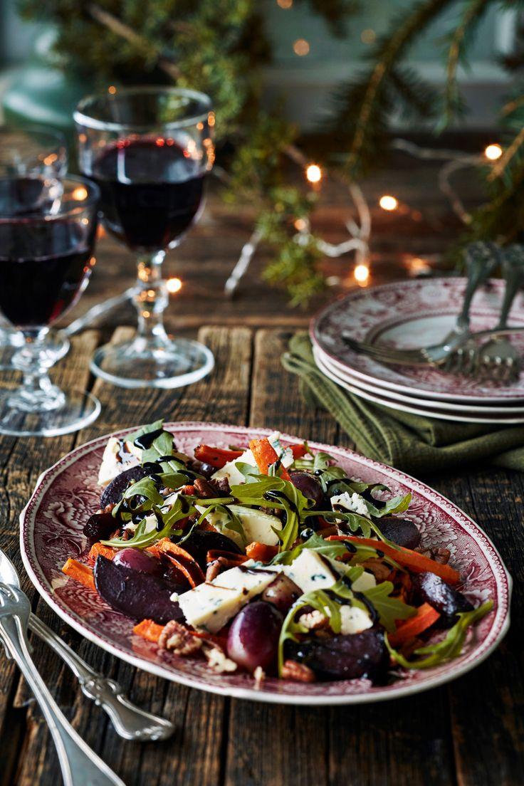 Paahdettu rypäle-punajuurisalaatti | K-ruoka