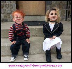 Chuckie & Bride Costumes