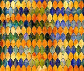 Decorative Window Films made to size!  Has great stained glass options!