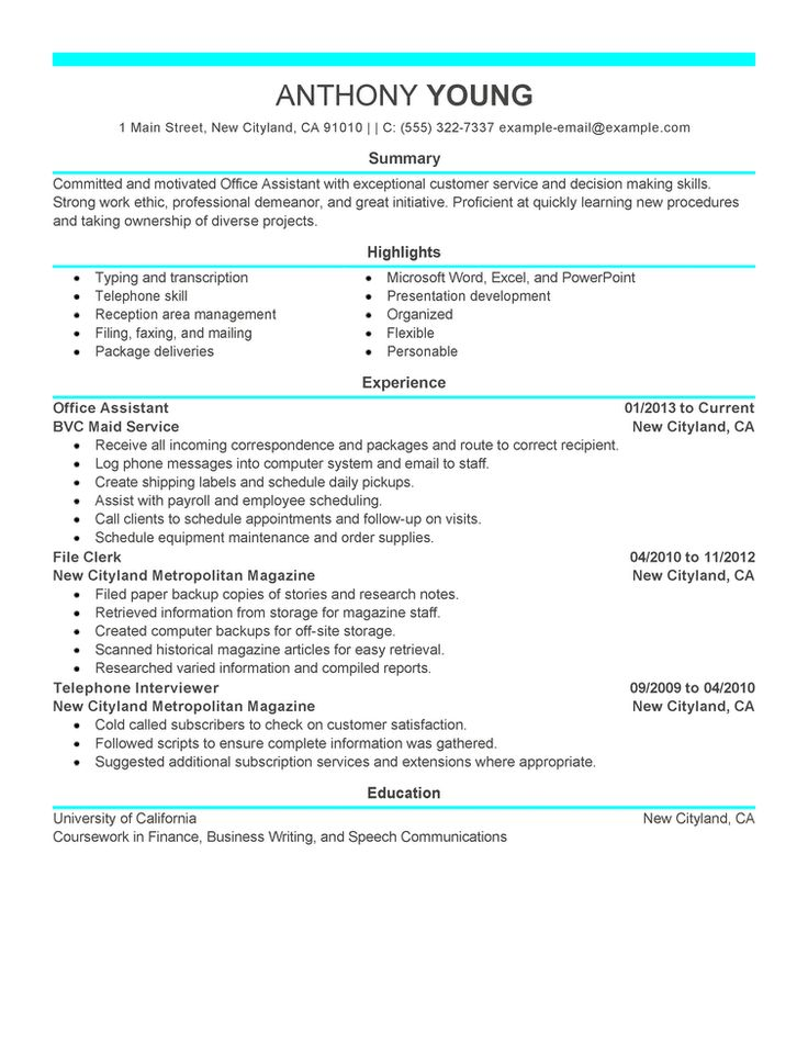 A professional professional resume examples good resume