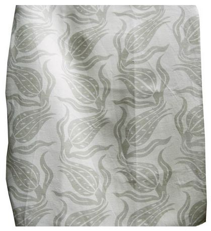 Good Look Room - Fabrics - Collections - Arjumand - The Imperial - TULIP SWAY NEUTRAL HEAVY LINEN