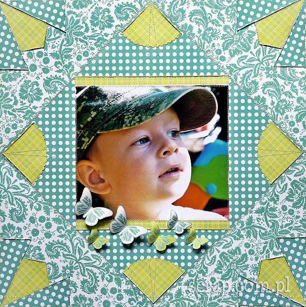 patchwork Ani z kolekcji Radość Lata