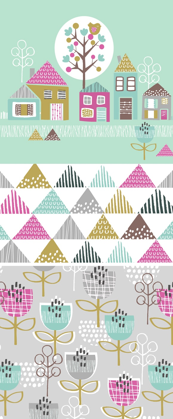 wendy kendall designs – freelance surface pattern designer » petite street