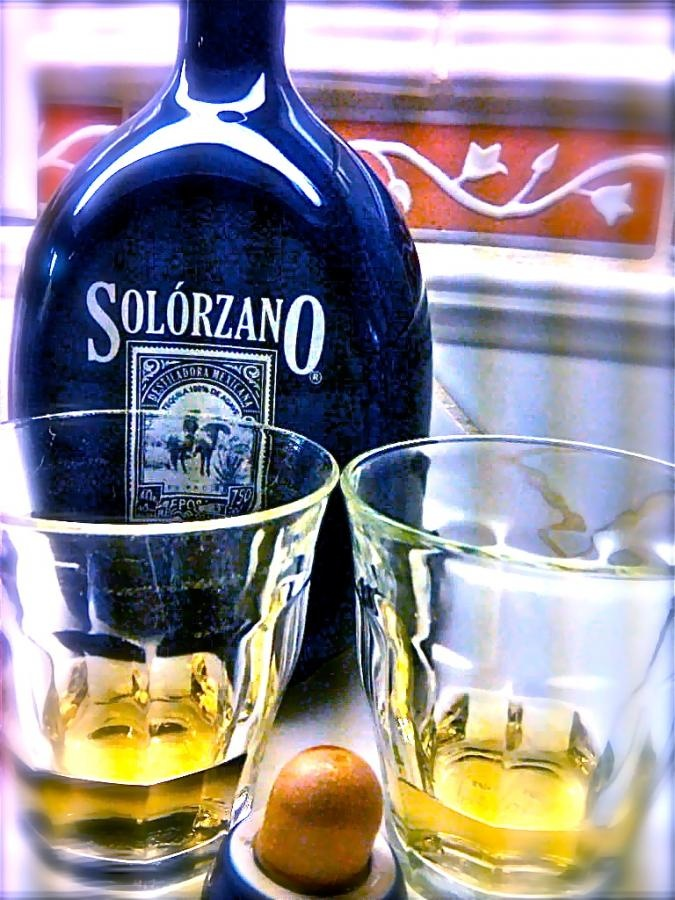 Last year I went on a quest to find the smoothest tequila and discovered Solorzano Reposado. Luckily, I can get it for 20 bucks off the reg. price with my discount key card at Specs, Houston.