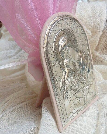 Ασημένια  εικόνα  σε οικονομικές  τιμές!μπομπονιέρες  βάπτισης#γάμος #gamos #γαμοσ #βάπτιση #βαπτιση #vaptisi#baptisi #vaptism #vaftisi#karabi #καραβι #navy #naftiko #vaptistika#βαπτιστικα #pink#babygirl  #baby #wendding #greece#athens #vintage#valentinachristina#vaptistika#mpomponieres#mpomponieres#mpomponieresvaftisis#madeingreece#euxologio#ευχολόγιο