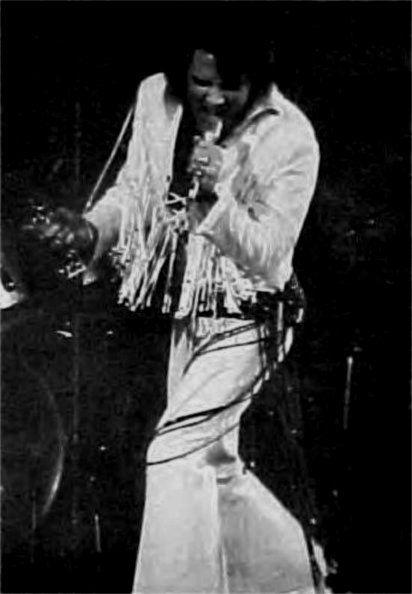 Elvis in concert in Denver november 17 1970.