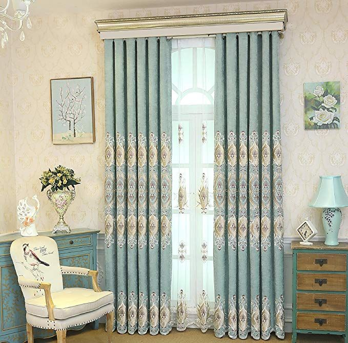 Pureaqu Blackout Curtains 96 Inch Long Grommet Thermal Insulated