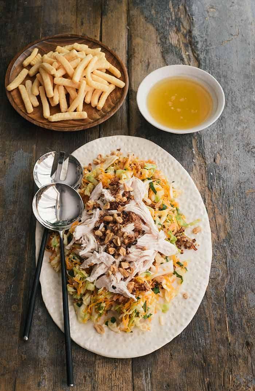 Ensalada vietnamita de pollo
