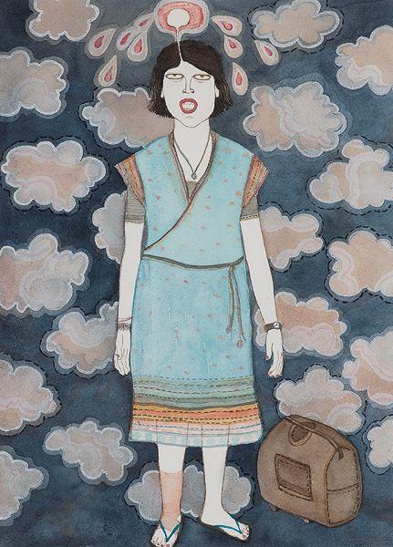 # Dhruvi Acharya#, Works On Paper, 24 Hour Online Auction:Mar 26-27, 2014, Lot 118, #Indian art#, #Saffronart#