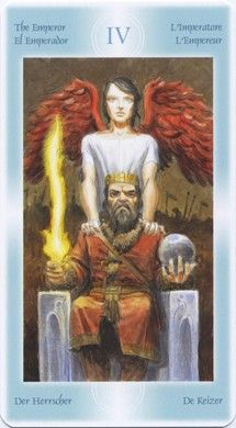 Emperor from Tarot of the Angels