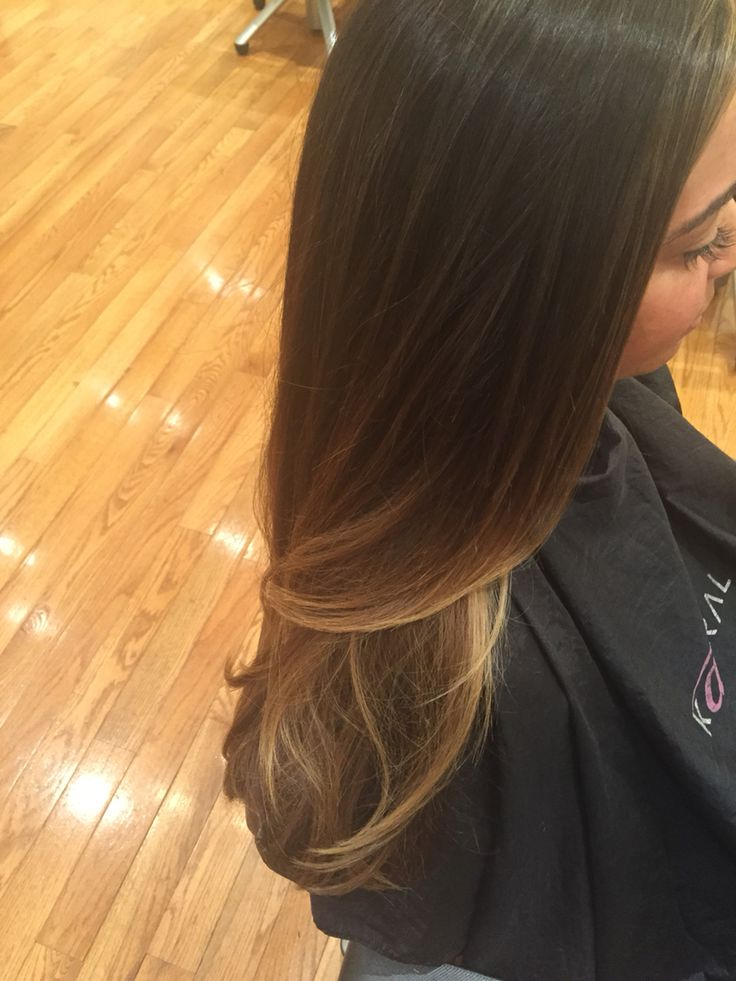 how to give some balayage highlights