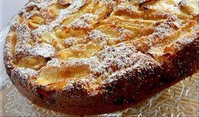 Συνταγή για μια τάρτα μήλου με κανέλα χωρίς ζύμη!