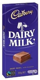 Cadbury Dairy Milk® Block 250g - Fairtrade