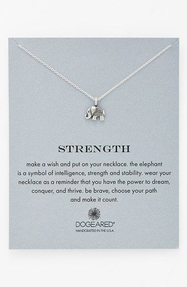 i want this for my birthday! ~ strength and intelligence—wear this delicate pendant necklace (or give it as a gift) to represent your own power to dream and thrive.