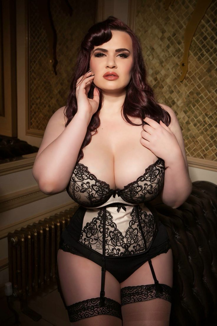 Curvy women in corsets remarkable, rather