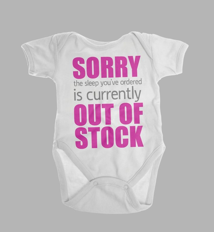 17 best alluring custom baby clothes images on pinterest a dog sorry the sleep youve ordered is currently out of stock funny baby clothes no sleep gender neutral baby gift custom baby gift negle Images