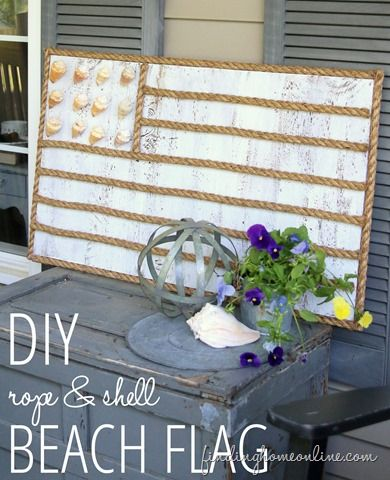 DIY-Rope-Shell-Beach-Flag