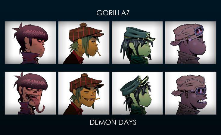 gorillaz wallpaper - Buscar con Google