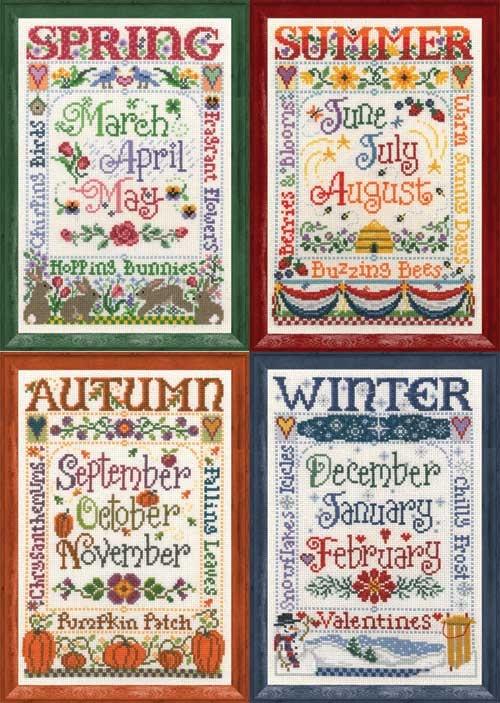 Seasons Set of Four