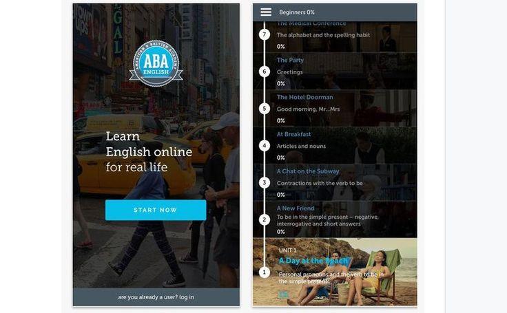 ABA English es una app para iOS (iPhone, iPad) destinada a todos aquellos que quieren iniciarse o profundizar en el aprendizaje del idioma inglés.
