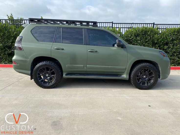 2020 Lexus GX460 w/ Black Rhino Mala wheels (full wrap