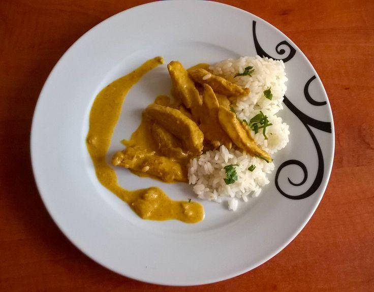 kurczak curry z mlekiem kokosowym | Naginamy przepisy