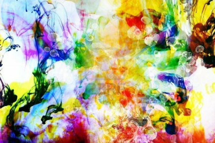 Picture of Colorful Abstract Art Background Made from Colorful Fluids stock photo, images and stock photography. Colorful Abstract Art, Abstract Images, Arte Elemental, Hd Backgrounds, Art Background, Happy Colors, Elementary Art, Art Google, Art Blog