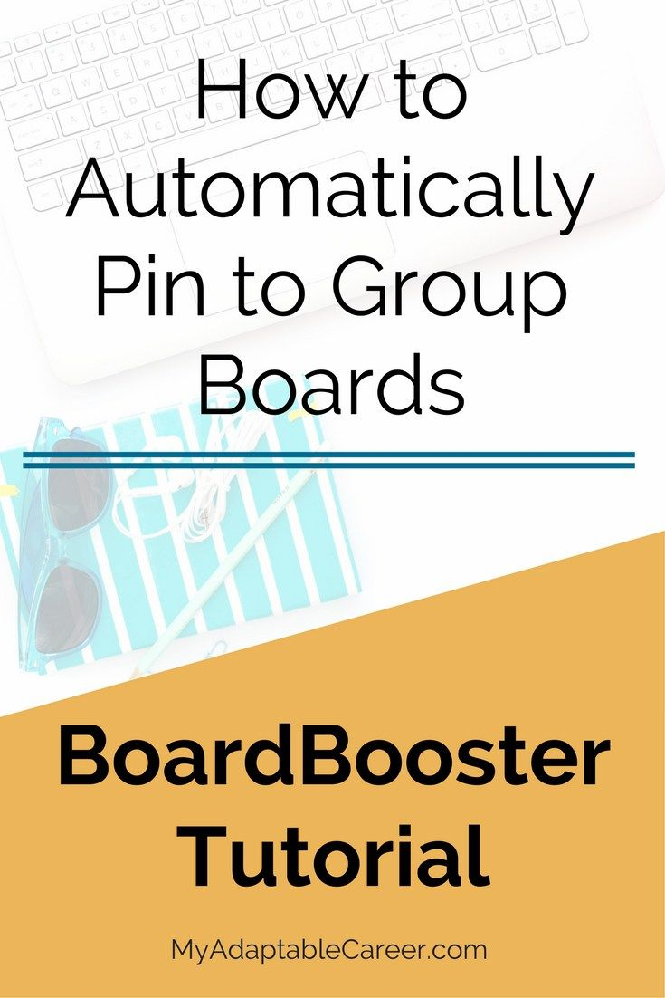 This BoardBooster tutorial will show you how to use BoardBooster's campaign feature to auto pin to your group boards. Save to read later!