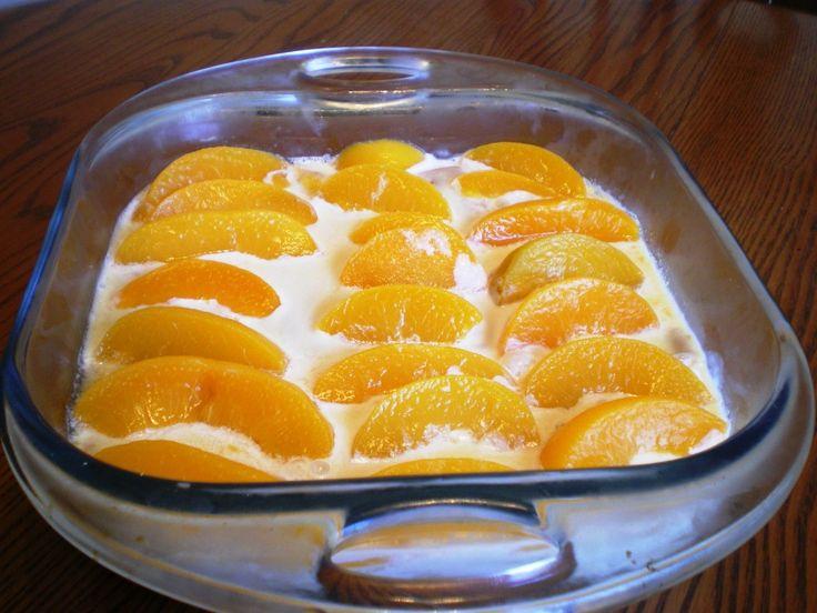 Tejszínkrémes barackos finomság sütés nélkül! Krémes varázslat egyszerűen, imádom! :)