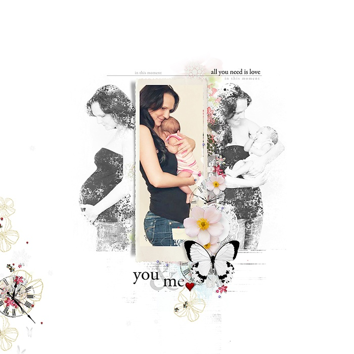 you and me | digital page by todido {a rak for an old friend}