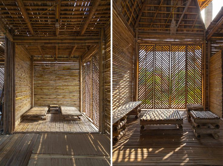 blooming bamboo home in vietnam by H&P architects - designboom | architecture & design magazine