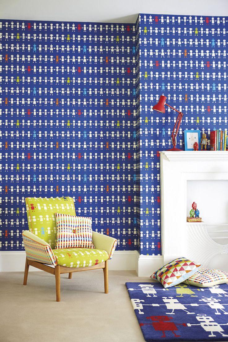 91 best Rom: Barnerom images on Pinterest | Kids wallpaper, Nursery ...