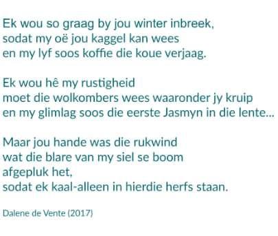 #gedigte #afrikaans #verlies #hartseer