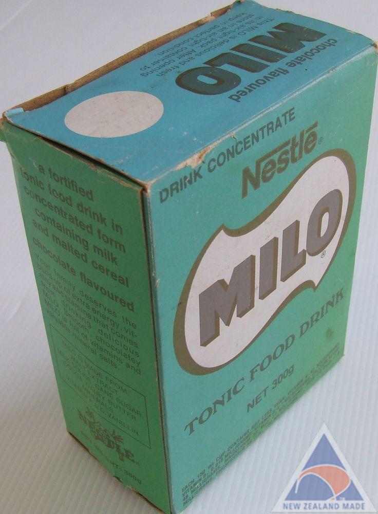 70s Milo box