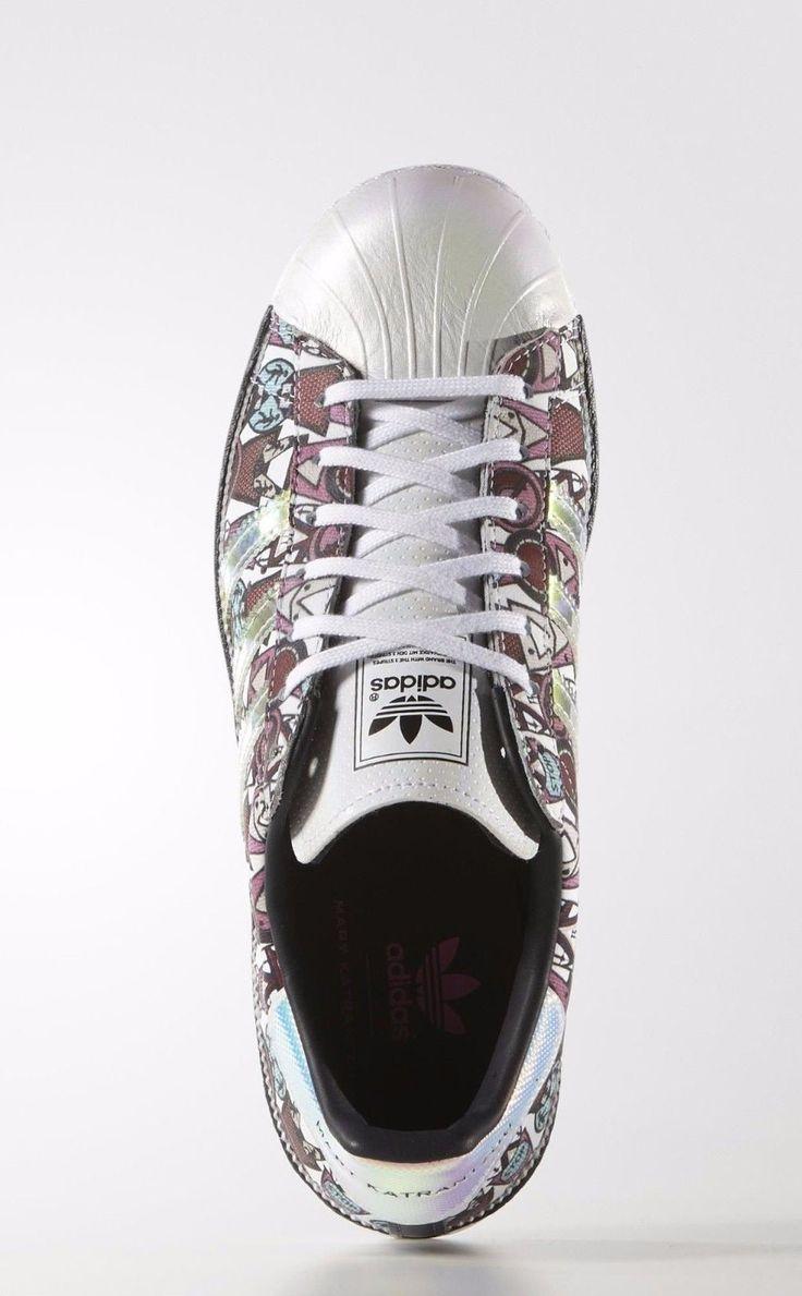 2016 Adidas Originals Superstar 80s Mary Katrantzou mujer Zapatos AF5272 De  venta