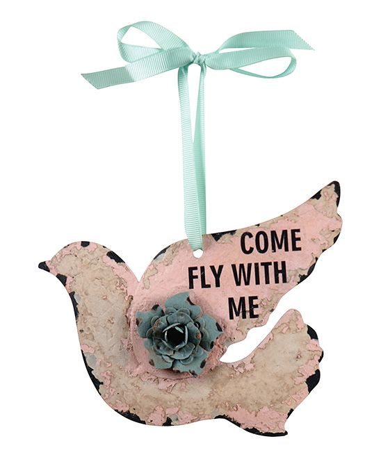 'Come Fly With Me' Bird Ornament