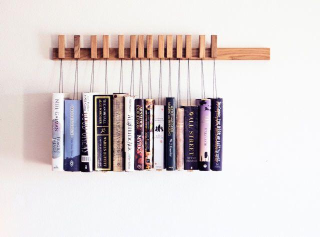 Clothespin Shelf