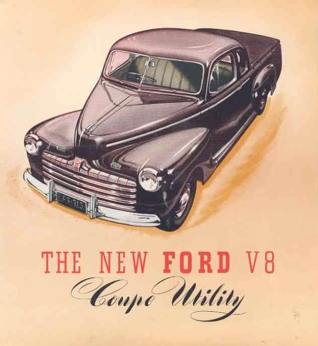 1947 Ford Coupe Utility (Australia)