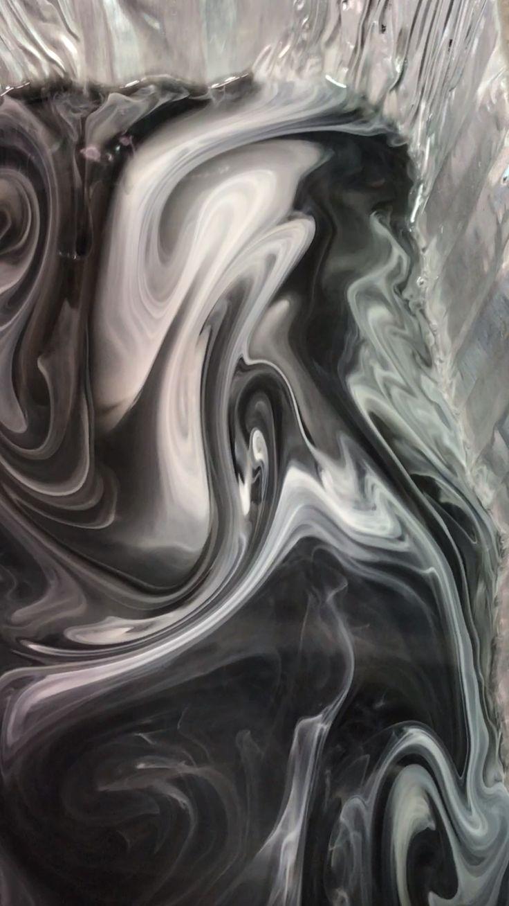 Encaustic Paint Encaustic Technique Encaustic Tutorials Yin Yang Black And White Art
