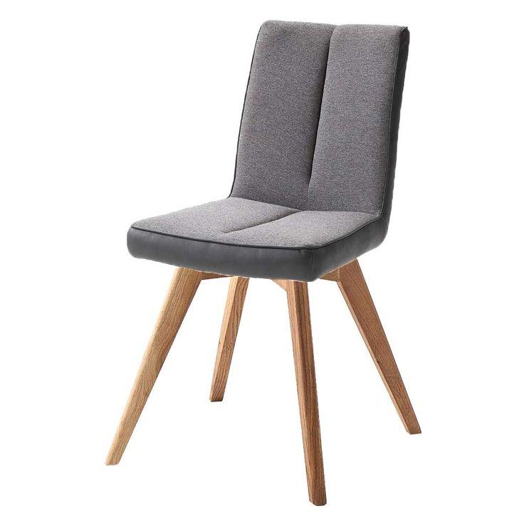 Küchenstuhl Alessia F Taupe Gestell Oval Konisch Wildeiche 22149  Küchenstuhl Alessia Aus Dem Gleichnamigen Stuhlsystem Vom Hersteller MCA.