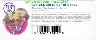 Baskin Robbins coupons for march 2017